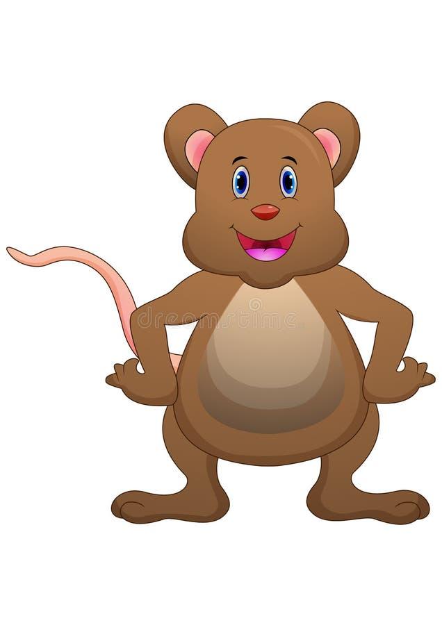 Het leuke muisbeeldverhaal stellen vector illustratie