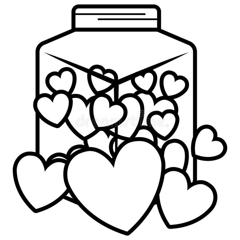 Het leuke pictogram van de metselaarkruik stock illustratie