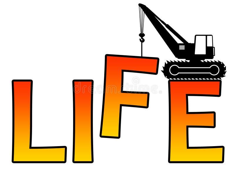 Het leven royalty-vrije illustratie