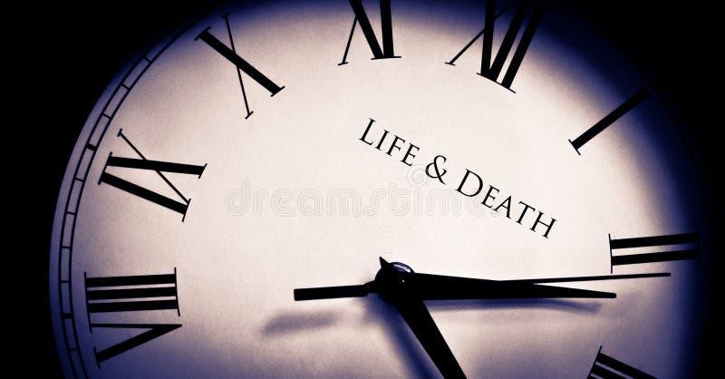 Het leven en Dood royalty-vrije stock afbeeldingen