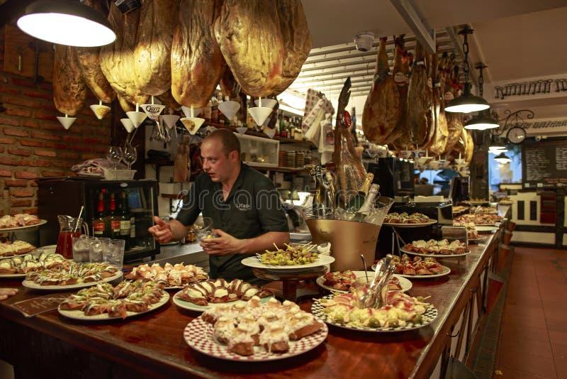 Het leven in Noordelijk Spanje stock foto's