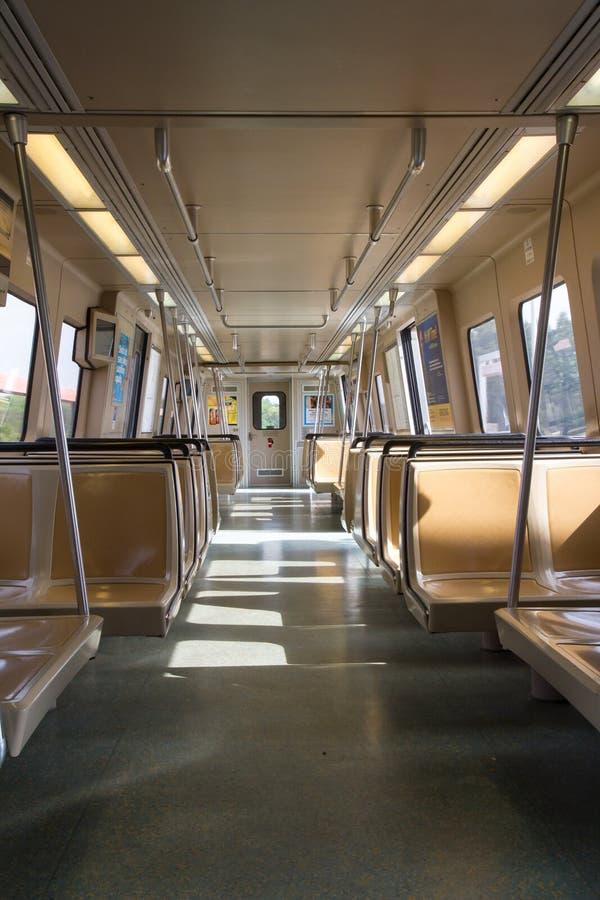 Het leven op de Metro stock afbeeldingen