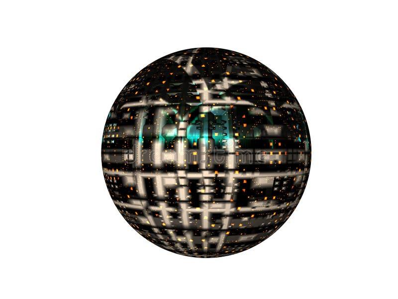 Download Het leven Satelliet stock illustratie. Illustratie bestaande uit satelliet - 292674