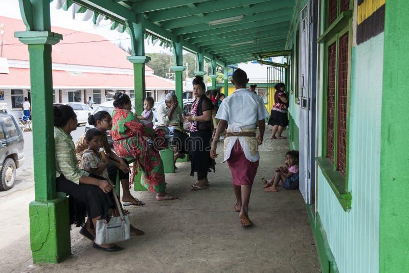Het leven in Tonga royalty-vrije stock afbeeldingen
