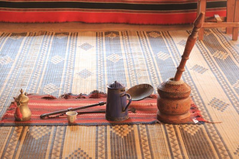 Het leven van Bedouin stock foto