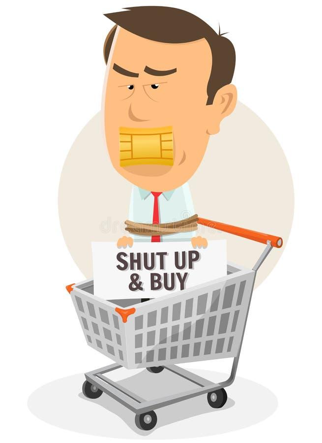 Het Leven Van de consument vector illustratie