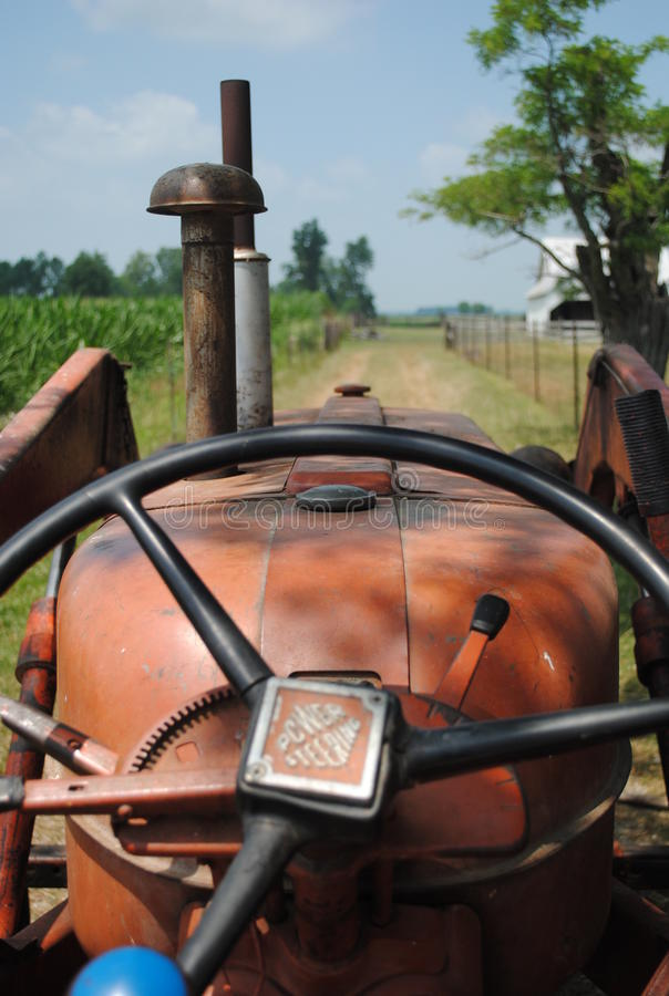 Het Leven van een Landbouwer royalty-vrije stock foto