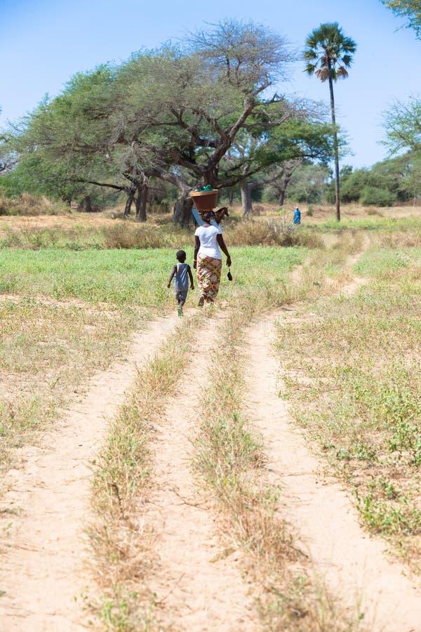 Download Het leven van het dorp redactionele stock foto. Afbeelding bestaande uit kleutertijd - 54082378