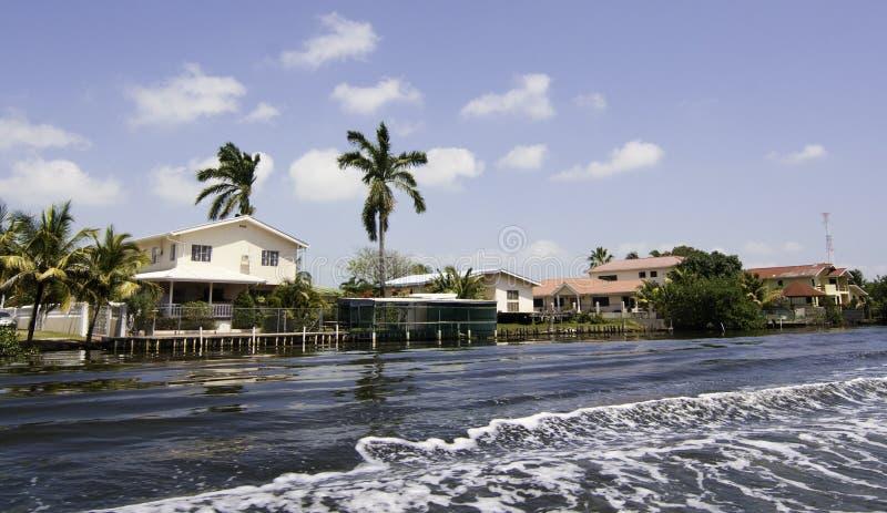 Het leven van Luxe in Belize royalty-vrije stock fotografie
