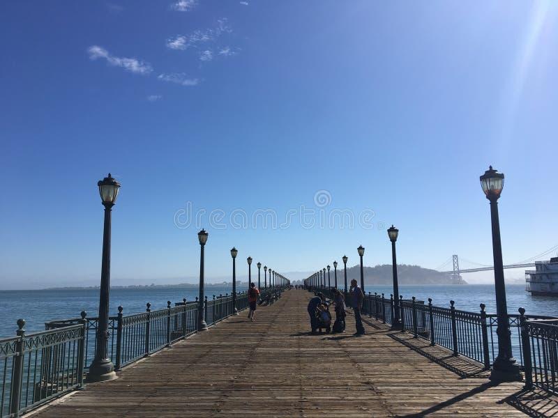 Het leven van San Francisco, Californië, de V.S. stock fotografie