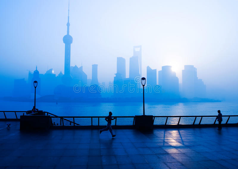 Het leven van Shanghai stock fotografie