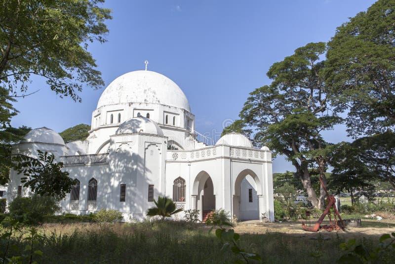 Het leven van Steenstad in het Eiland van Zanzibar, Tanzania royalty-vrije stock afbeeldingen