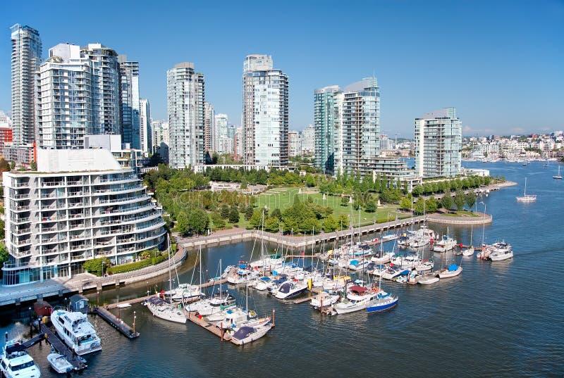 Het leven in Vancouver royalty-vrije stock foto