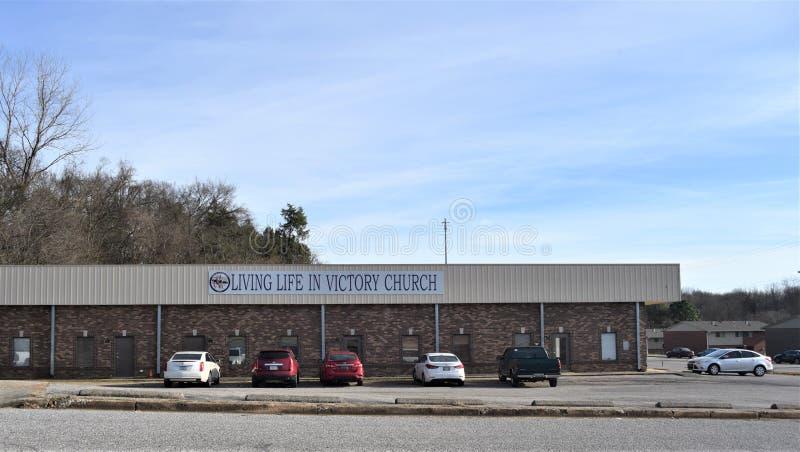 Het leven het Leven in Victory Church, Memphis, TN royalty-vrije stock fotografie