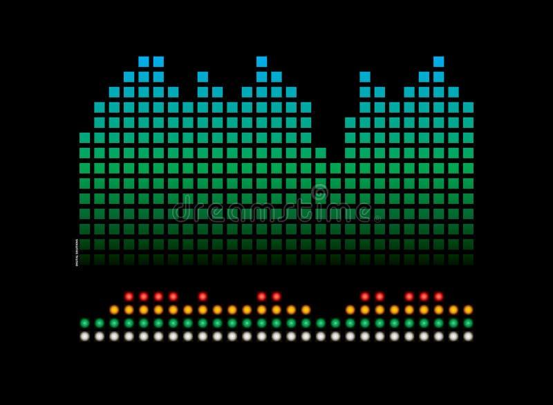 Het lezen van de muziek vector illustratie