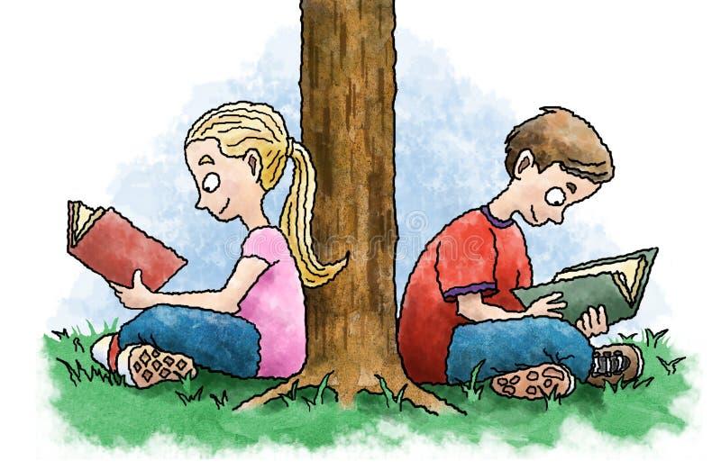 Het lezen van jonge geitjes