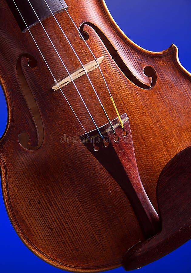 Het Lichaam Close-up Geïsoleerdev Bk van de viool royalty-vrije stock foto