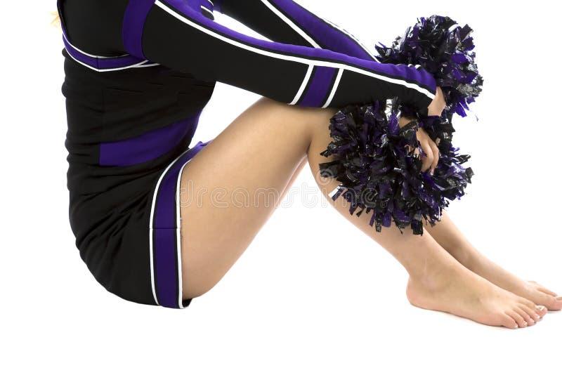 Het lichaam van Cheerleader stock foto