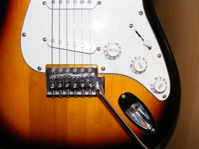 Het Lichaam van de gitaar stock foto's