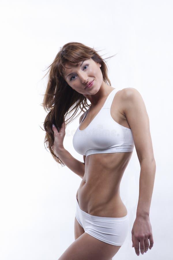 Het lichaam van het sexy wijfje stock foto