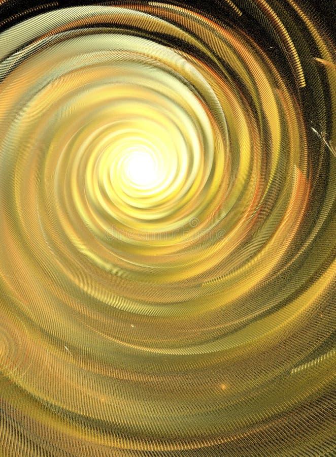 In het licht stock illustratie
