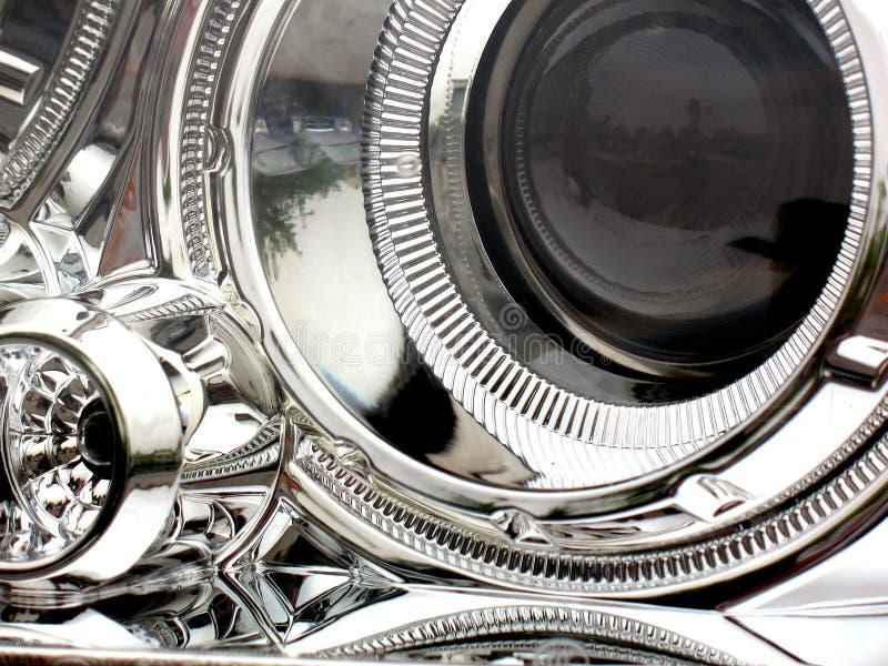 Het licht van de auto royalty-vrije stock afbeeldingen