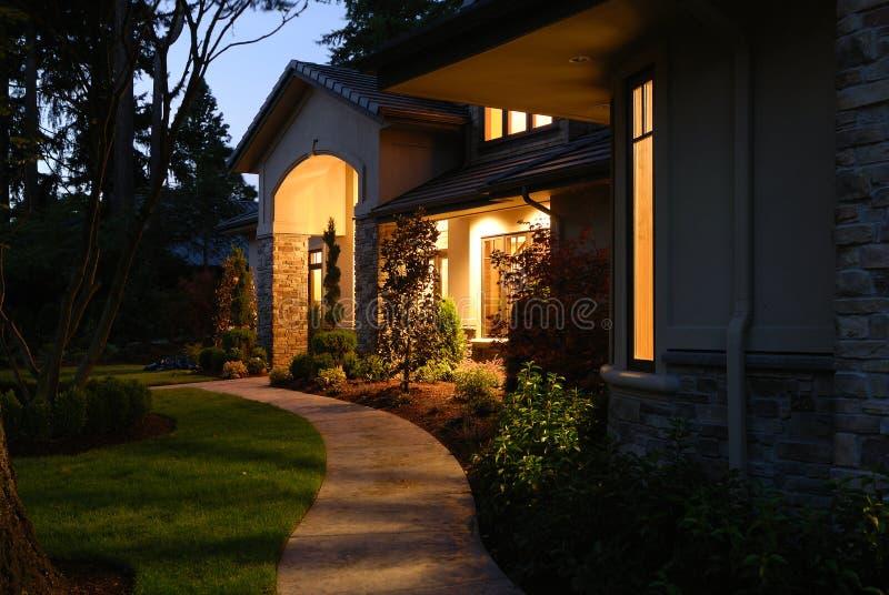 Het Licht van de deuropening stock afbeelding