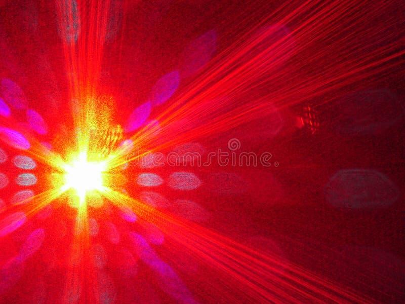 Het licht van de laser royalty-vrije stock foto