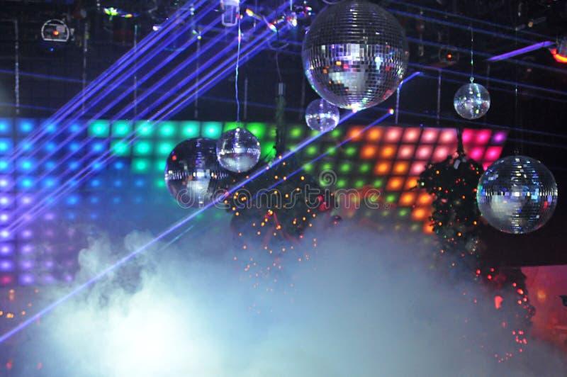 Het licht van de Laser van de nachtclub toont stock afbeelding