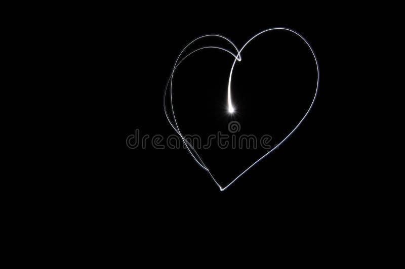 Het licht van de liefde stock afbeeldingen