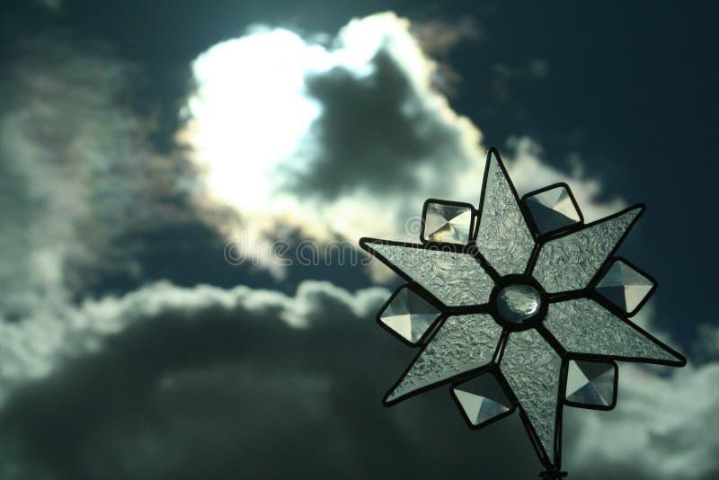 Het licht van de ster royalty-vrije stock foto