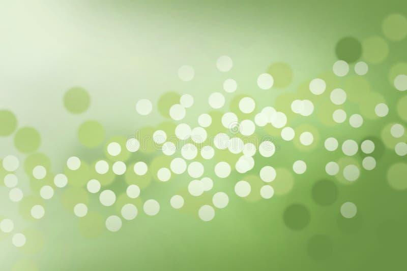 Het Licht van Defocus in de lentetijd stock illustratie
