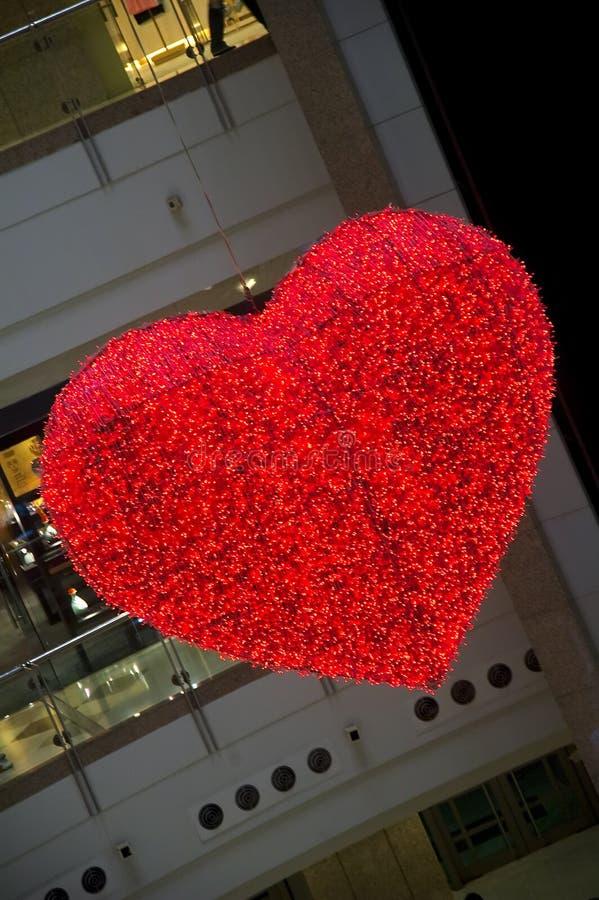 Het licht van het hart stock afbeeldingen