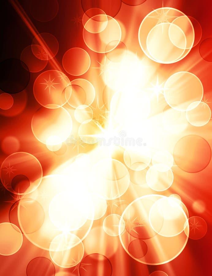 Het licht van het onduidelijke beeld stock illustratie