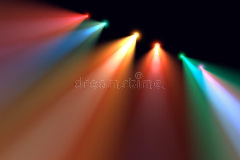 Het licht van het overleg stock foto