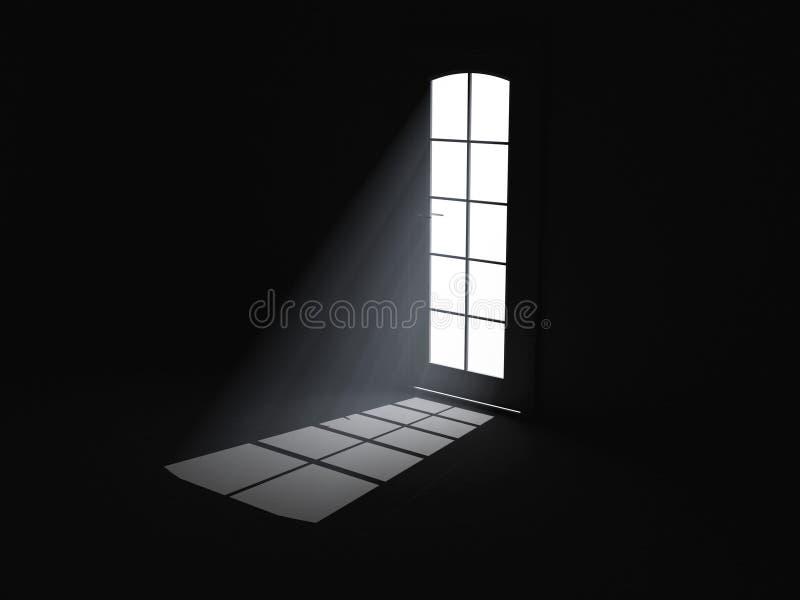 Het licht van het volume stock illustratie