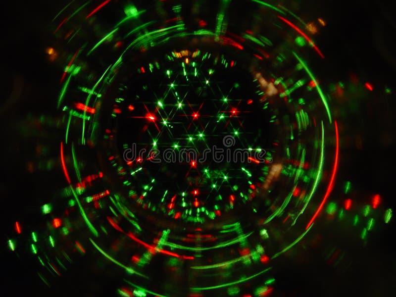Het licht van Kerstmis royalty-vrije stock afbeelding