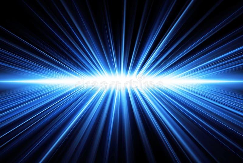 Het licht van stralen vector illustratie