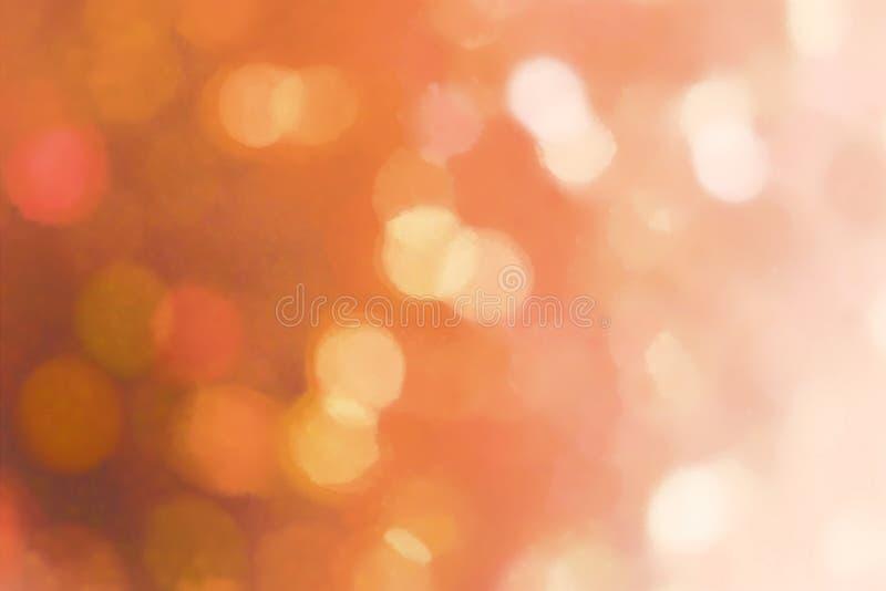 Het licht vertroebelt illustratie stock afbeelding