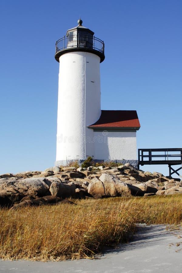 Het Lichte Huis van New England stock afbeeldingen