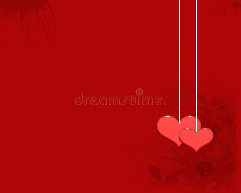 Het liefdebehang stock foto