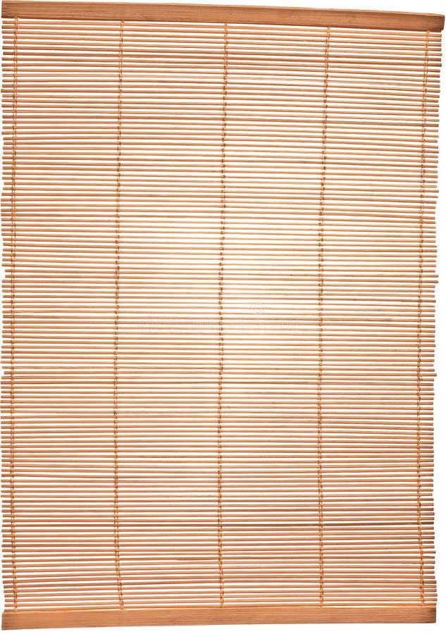 Het lijst-servet van het bamboe royalty-vrije stock afbeeldingen