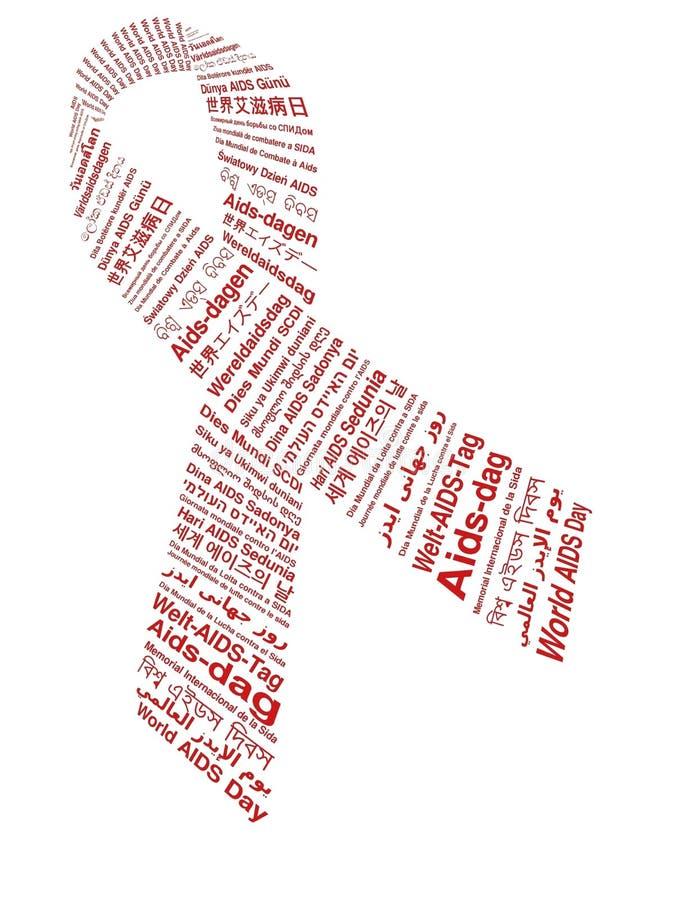 De Dag van AIDS van de wereld royalty-vrije stock fotografie