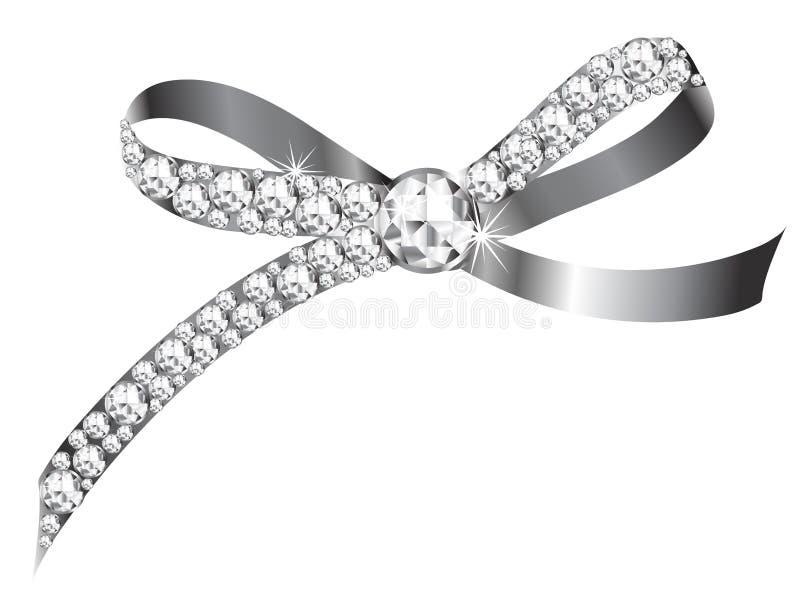 Het lint van de diamant stock foto