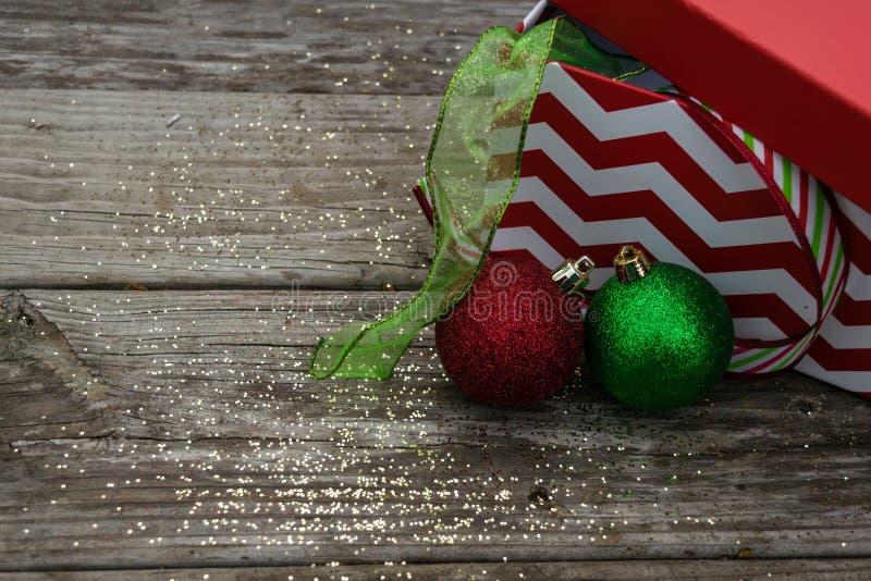 Het lint van Kerstmis royalty-vrije stock foto's