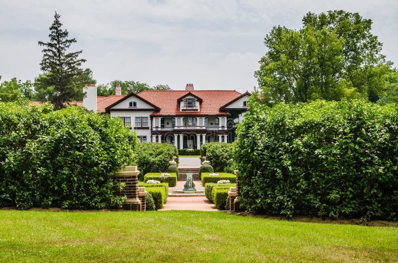 Het Longview-Landgoedherenhuis royalty-vrije stock foto