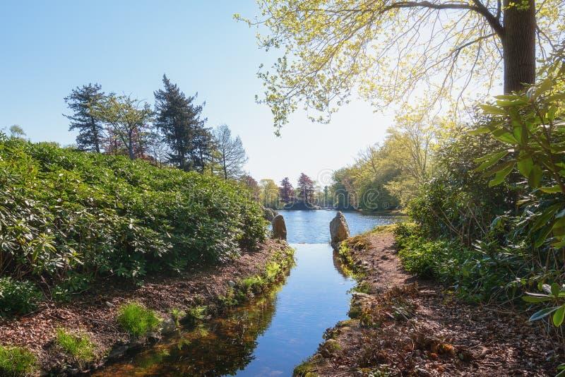 Het Loo park located in Apeldoorn. In the Netherlands royalty free stock images