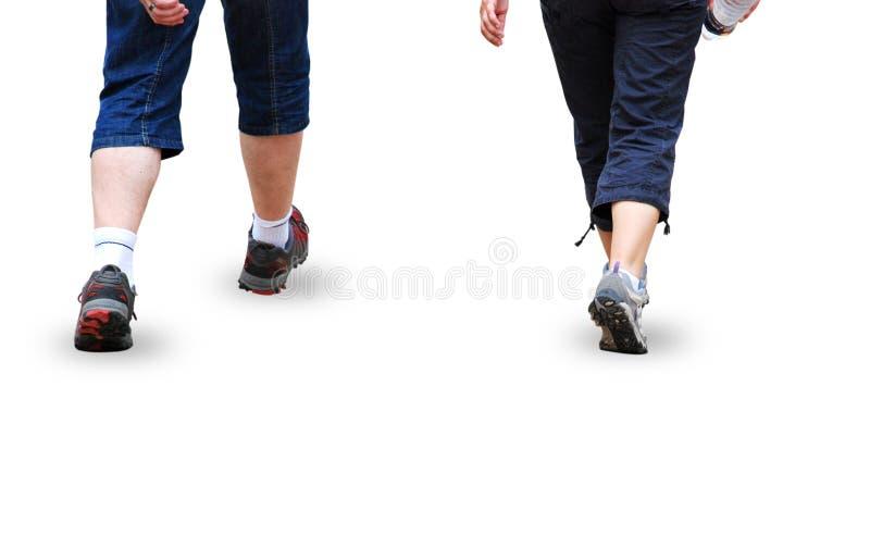 Het lopen stock foto