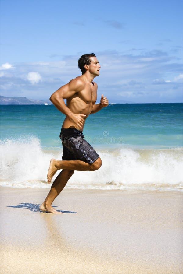 Het lopen van de mens. stock afbeelding