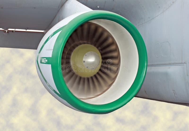 Het Lopen van de straalmotor royalty-vrije stock fotografie